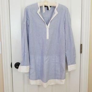 Bcbg shirt dress. So cute on!